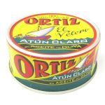 Ortiz Atun Claro Fillets (Yellowfin Tuna) in Olive Oil - 250g